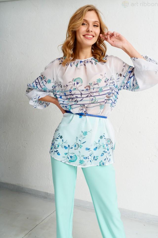 М3486T блузка женская